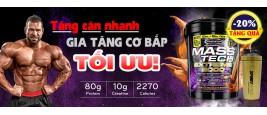 MASS TECH EXTREME 2000 - KHẮC TINH CỦA NGƯỜI GẦY VÀ BẬC THẦY CỦA NGƯỜI TĂNG CÂN