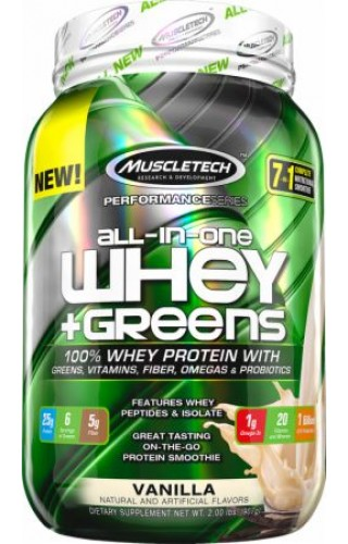 ALL-IN-ONE 100% WHEY GREENS