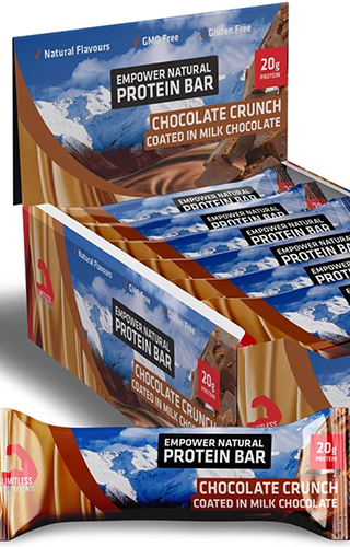 EMPOWER NATURAL PROTEIN BAR 720g (Hộp 12 thanh)