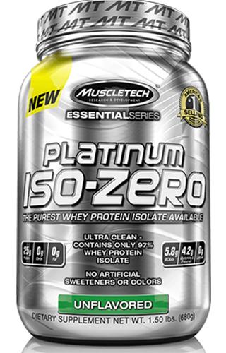 Platinum 100% Iso-Whey 3.34LBS